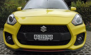 Swift Sport côté face…