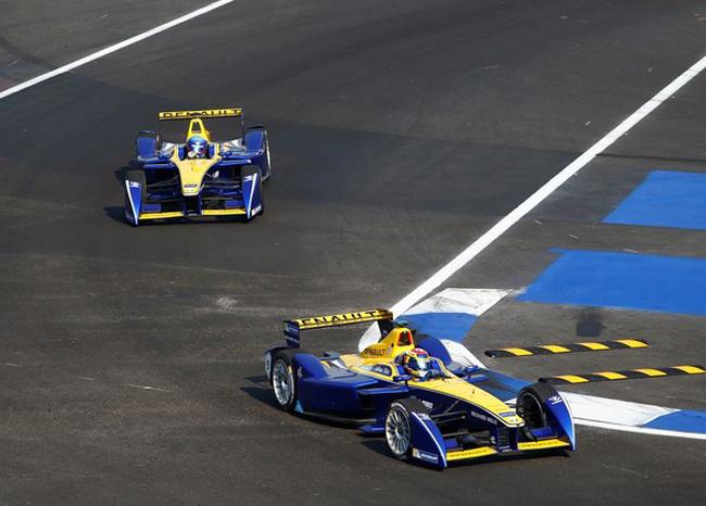 Buemi - Prost ou Renault e-dams 2 fois sur le podium