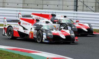 Toyota #8 et #7…