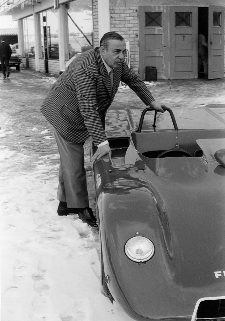 Carlo Abarth à Lignières (1970)